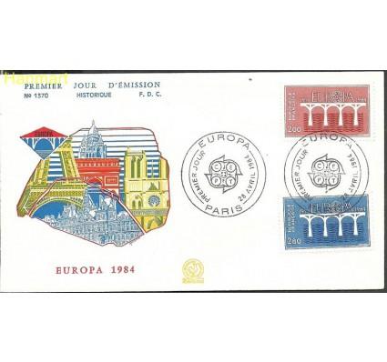 Znaczek Francja 1984 Mi 2441-2442 FDC