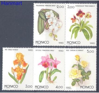 Monako 1990 Mi 1947-1951 Czyste **