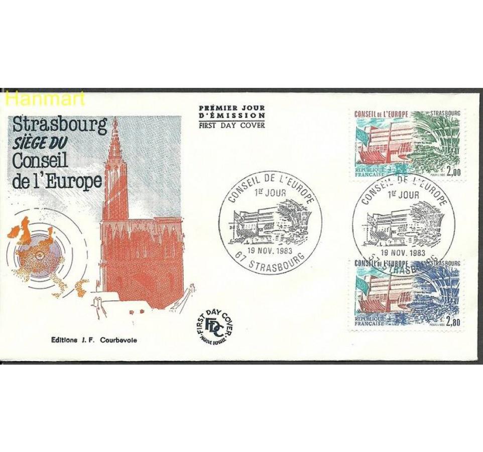 Francja 1983 Mi die 32-33 FDC