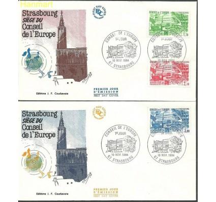Znaczek Francja 1984 Mi die 34-36 FDC