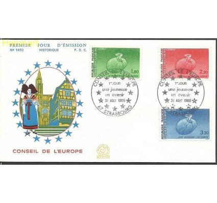 Znaczek Francja 1985 Mi die 37-39 FDC