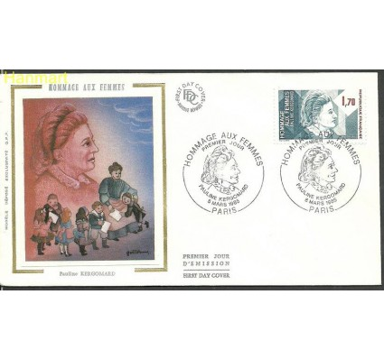 Znaczek Francja 1985 Mi 2491 FDC