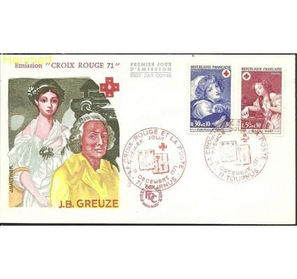 Znaczek Francja 1971 Mi 1777-1778 FDC
