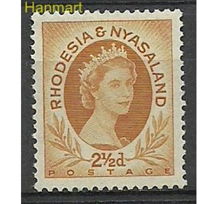 Znaczek Rodezja i Nyassaland 1956 Mi 4 Z podlepką *