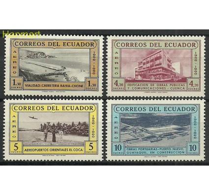 Znaczek Ekwador 1960 Mi 1043-1046 Czyste **