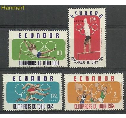 Znaczek Ekwador 1964 Mi 1158-1161 Czyste **
