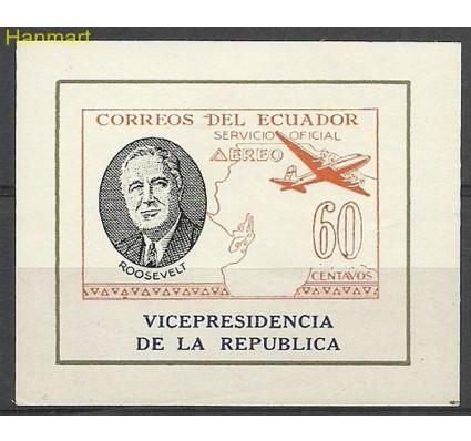Znaczek Ekwador 1949 Mi die bl D15 Czyste **