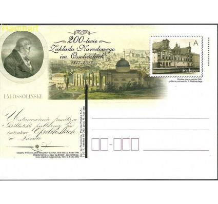 Znaczek Polska 2017 Fi Cp 1767 Całostka pocztowa