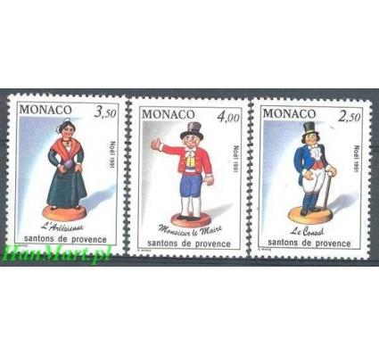 Znaczek Monako 1991 Mi 2035-2037 Czyste **