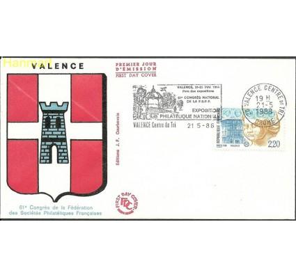 Znaczek Francja 1988 Mi 2670 FDC