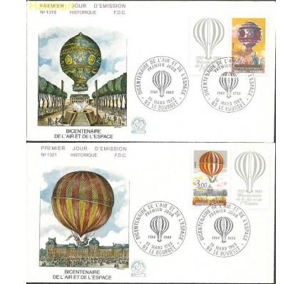 Znaczek Francja 1983 Mi zf 2387-2388 FDC
