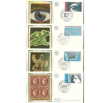 Znaczek Francja 1975 Mi 1923-1926 FDC