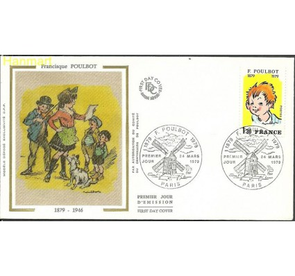 Znaczek Francja 1979 Mi 2144 FDC