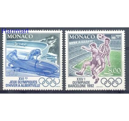 Monako 1992 Mi 2052-2053 Czyste **