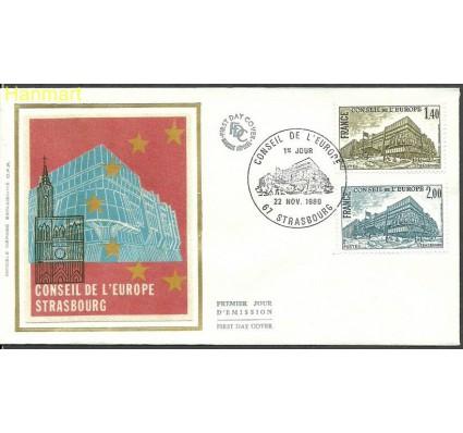 Znaczek Francja 1980 Mi die25-26 FDC
