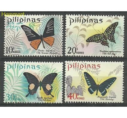 Znaczek Filipiny 1969 Mi 895-898 Z podlepką *