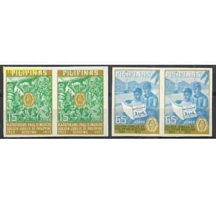 Znaczek Filipiny 1973 Mi 1089-1090B Z podlepką *