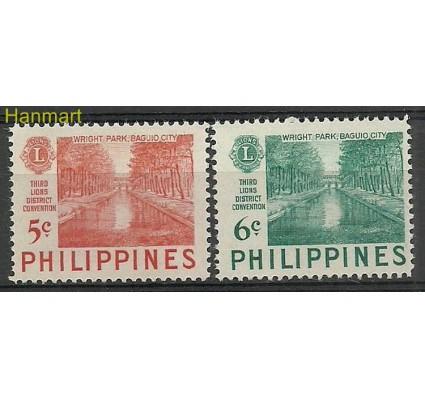 Znaczek Filipiny 1952 Mi 564-565 Czyste **