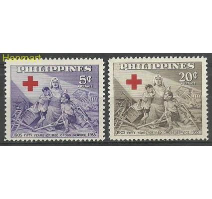Znaczek Filipiny 1956 Mi 603-604 Czyste **