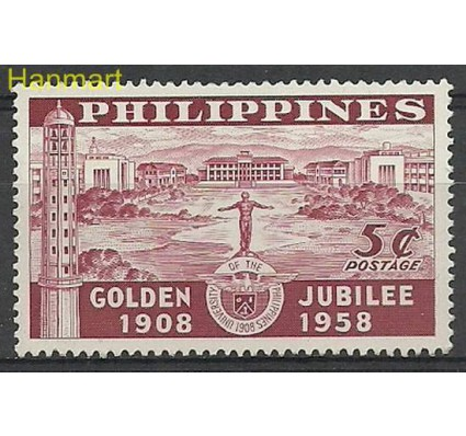 Znaczek Filipiny 1958 Mi 619 Czyste **