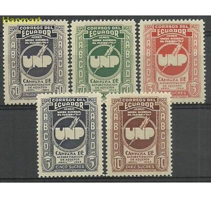 Znaczek Ekwador 1946 Mi 613-617 Czyste **