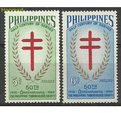 Znaczek Filipiny 1960 Mi 659-660 Czyste **