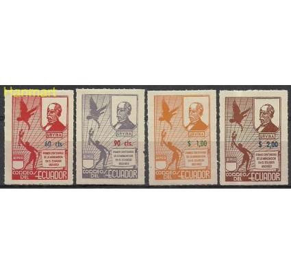 Znaczek Ekwador 1952 Mi 792-795 Czyste **