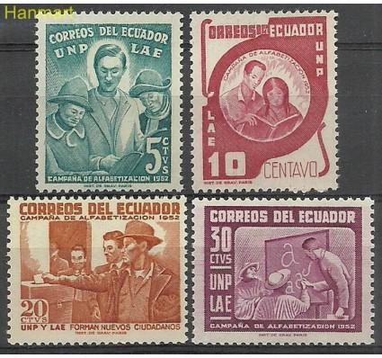 Znaczek Ekwador 1953 Mi 803-806 Czyste **