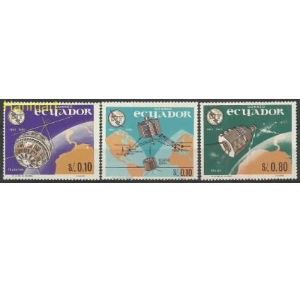 Znaczek Ekwador 1966 Mi 1190-1192 Czyste **