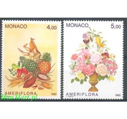 Monako 1992 Mi 2074-2075 Czyste **