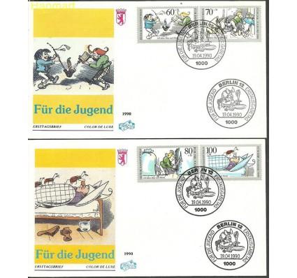 Znaczek Berlin Niemcy 1990 Mi 868-871 FDC