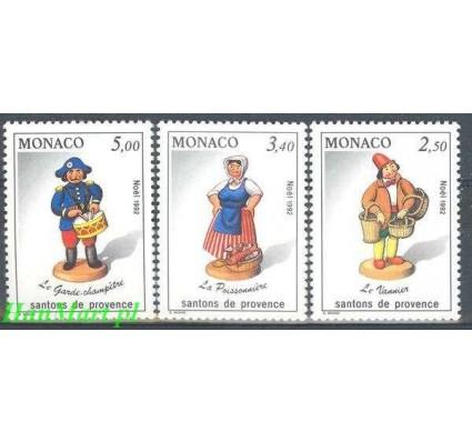 Monako 1992 Mi 2091-2093 Czyste **