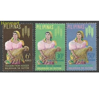 Znaczek Filipiny 1963 Mi 741-743 Czyste **