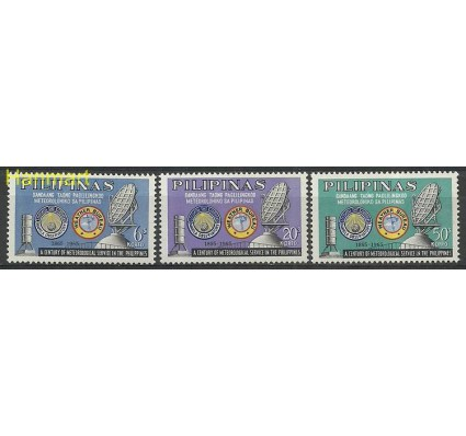 Znaczek Filipiny 1965 Mi 771-773 Czyste **