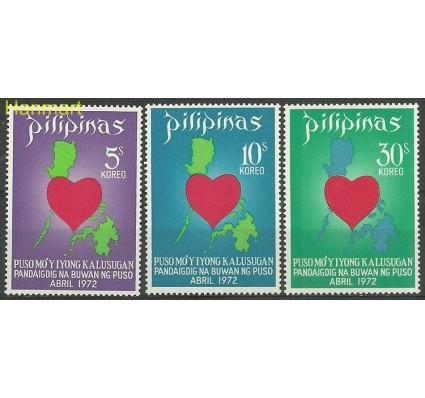 Znaczek Filipiny 1972 Mi 1029-1031 Czyste **