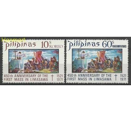 Znaczek Filipiny 1972 Mi 1032-1033 Czyste **