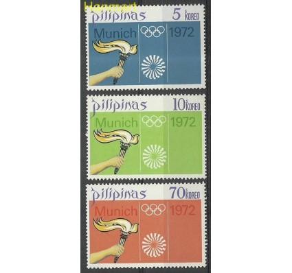 Znaczek Filipiny 1972 Mi 1037-1039 Czyste **