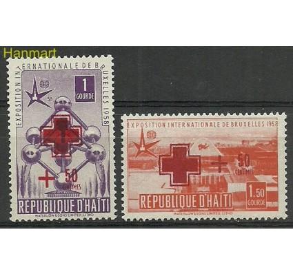 Znaczek Haiti 1958 Mi 490-491 Czyste **