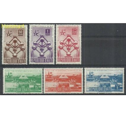 Znaczek Haiti 1958 Mi 477-482 Z podlepką *