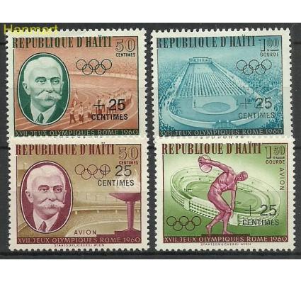 Znaczek Haiti 1960 Mi 636-639 Z podlepką *