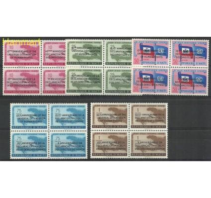 Znaczek Haiti 1959 Mi vie535-554 Z podlepką *