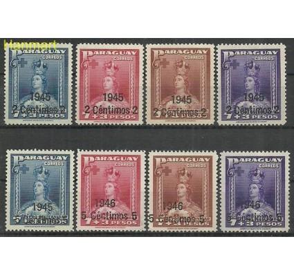 Znaczek Paragwaj 1945 Mi 588-595 Czyste **