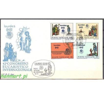 Watykan 1981 FDC