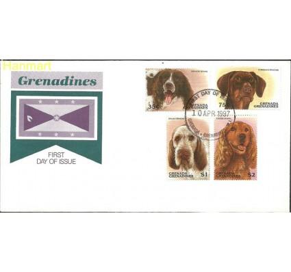 Znaczek Grenada i Grenadyny 1997 Mi 2413-2416 FDC