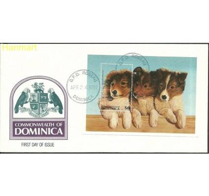Znaczek Dominika 1997 Mi bl329 FDC