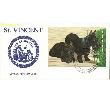 Znaczek Saint Vincent i Grenadyny 1998 Mi bl455 FDC