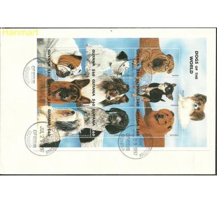 Znaczek Gujana 1997 Mi ark6054-6062 FDC
