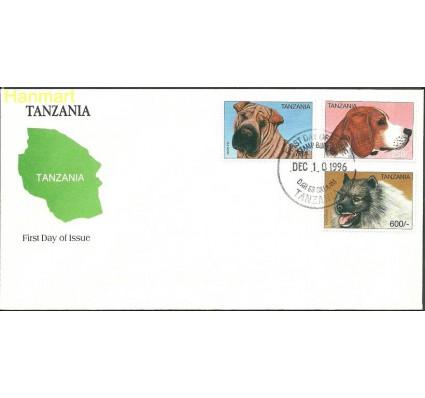 Tanzania 1996 Mi 2507-2509 FDC