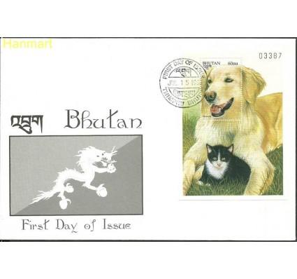 Znaczek Bhutan 1997 Mi bl372 FDC