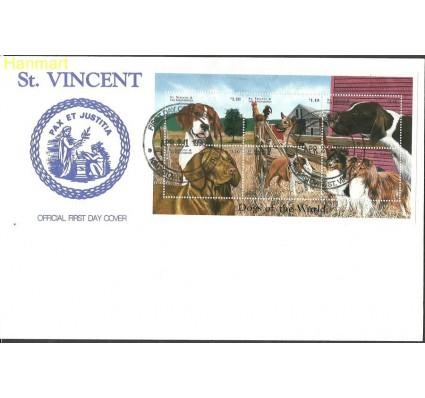 Znaczek Saint Vincent i Grenadyny 1998 Mi ark4363-4368 FDC